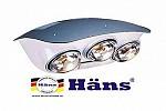 Đèn sưởi phòng tắm Hans chính hãng - Điện Máy Long Việt
